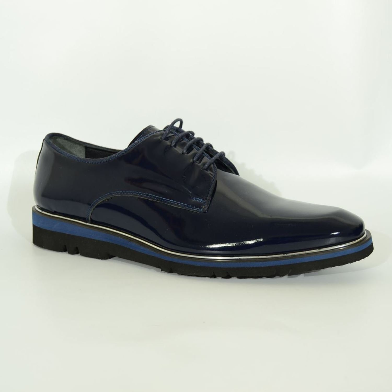 Marcomen 2721 Erkek Rugan Ayakkabı