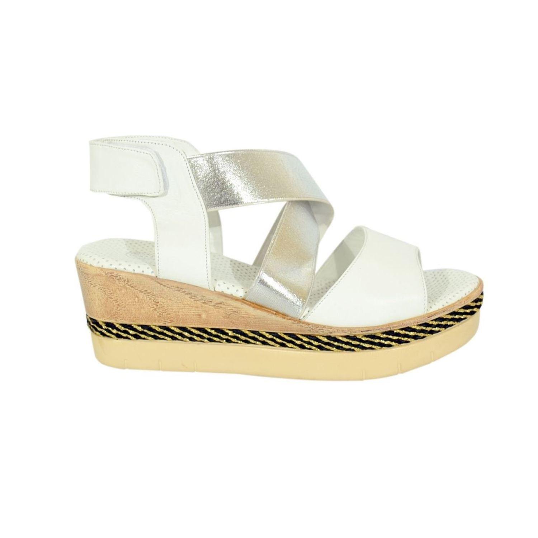 Mammamia 1860 Kadın Deri Sandalet