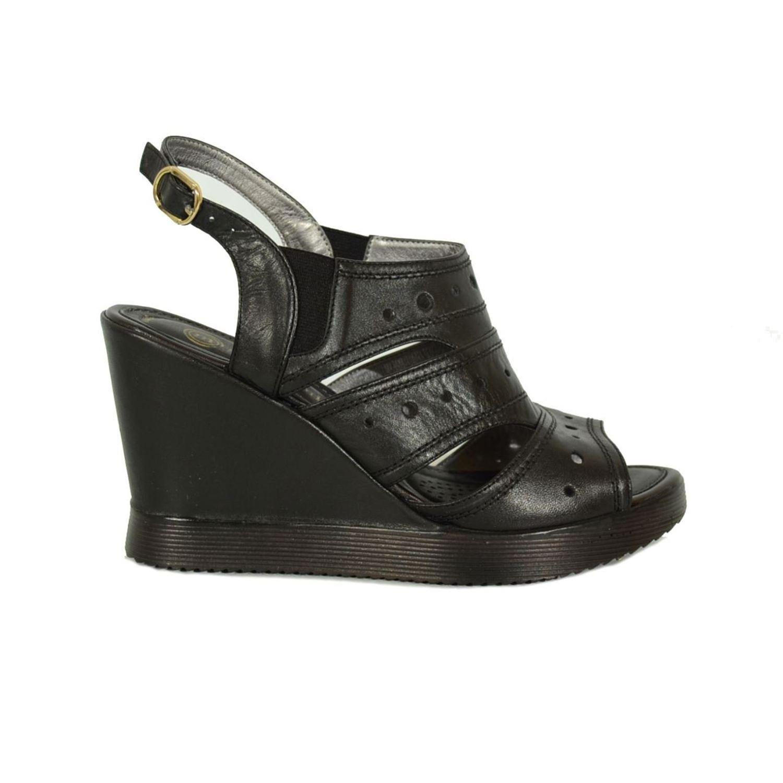 Mammamia 1450 Kadın Deri Sandalet