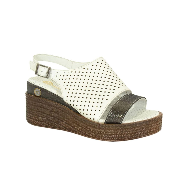 Mammamia 1485 Kadın Deri Sandalet