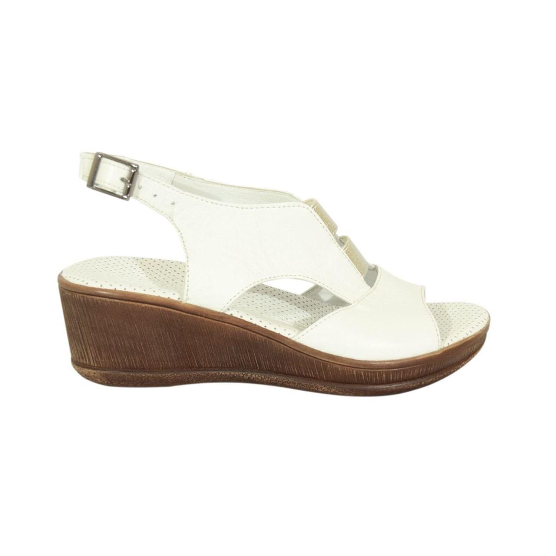 Mammamia 1455 Kadın Deri Sandalet