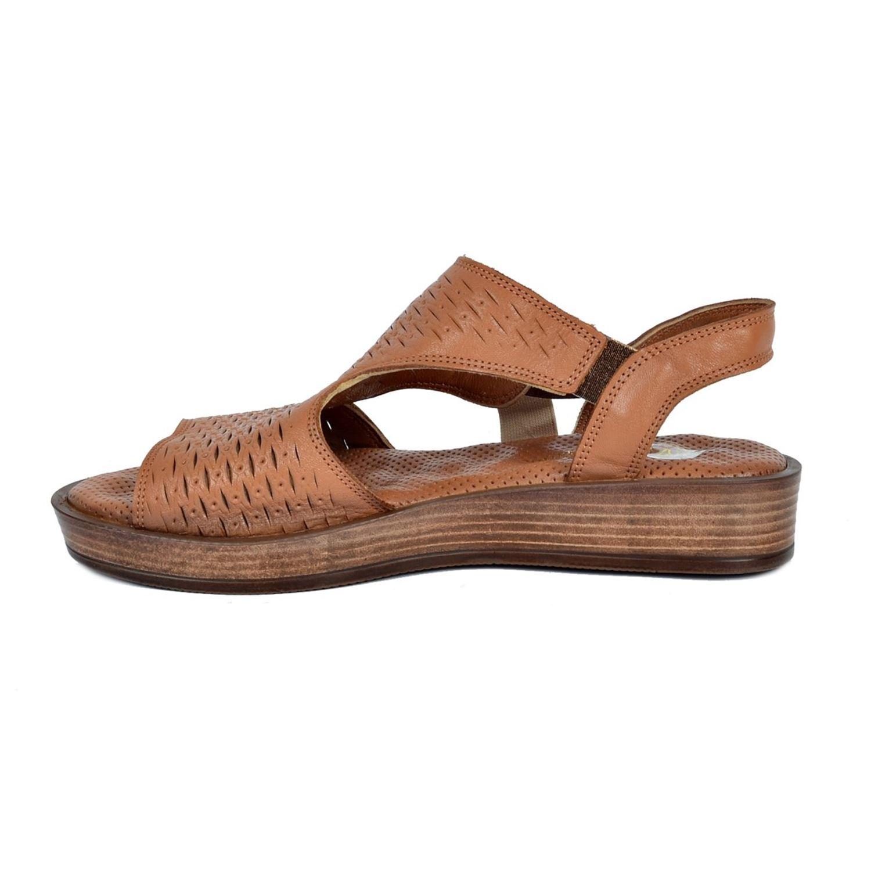 Mammamia Kadın Deri Sandalet 1645
