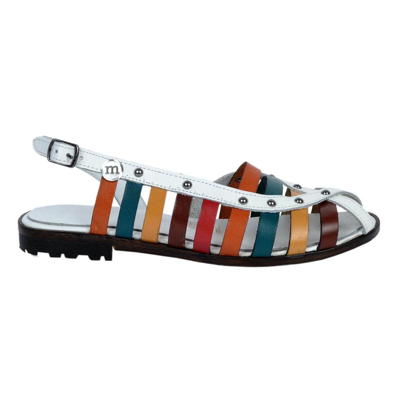 Mammamia Kadın Deri Sandalet D20YS-1805