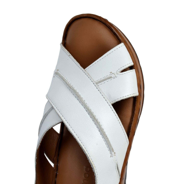 Messimod Kadın Deri Sandalet 2108