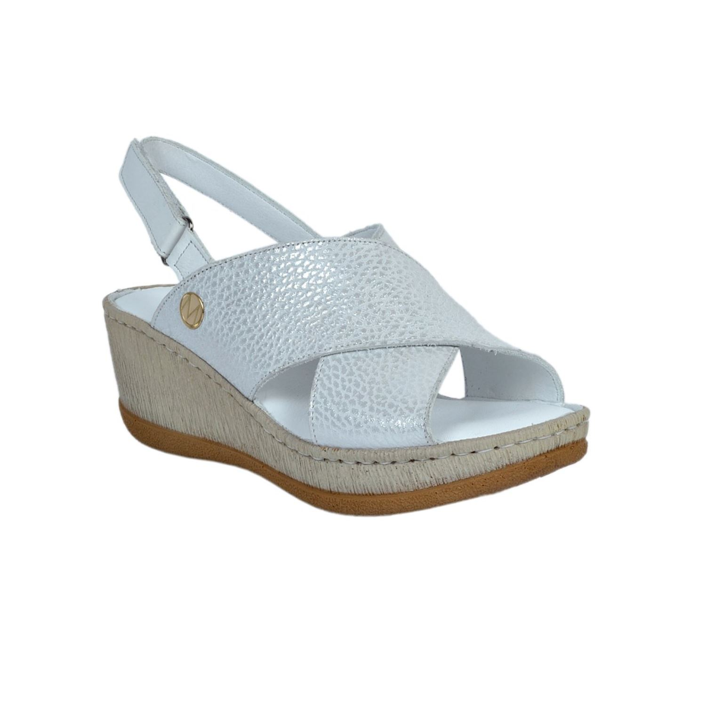 Messimod Kadın Deri Sandalet 2130