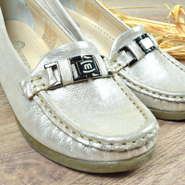 Bej Kadın Deri Ayakkabı 3320