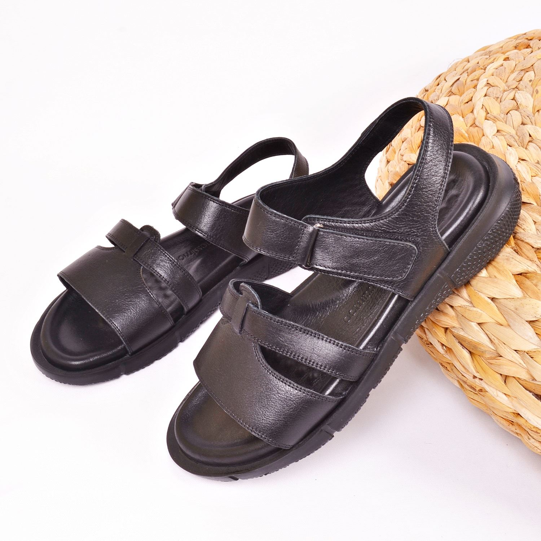 Messimod Erkek Deri Sandalet 3817