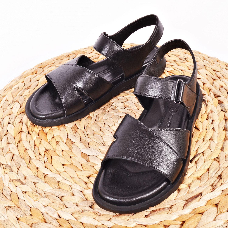 Messimod Erkek Deri Sandalet 3819
