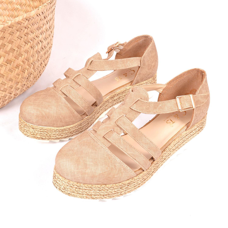 Bej Kadın Ayakkabı 8054