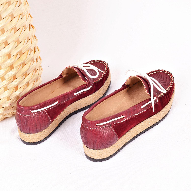 Bordo Kadın Ayakkabı 70026