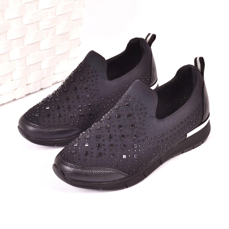 Siyah Kadın Spor Ayakkabı 963