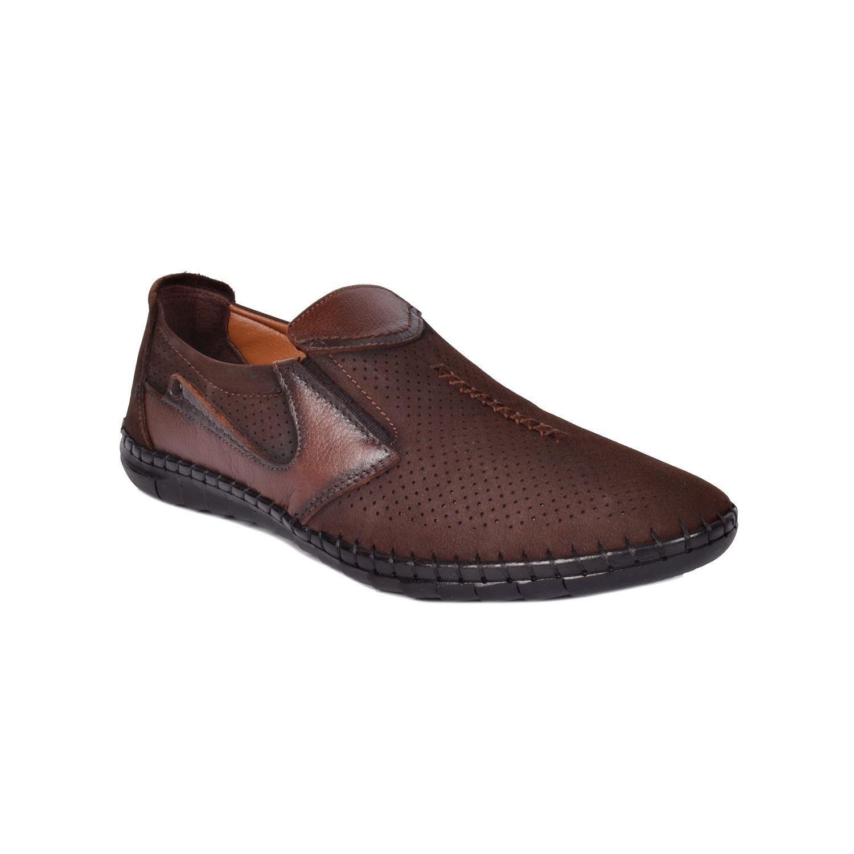 Kahve Erkek Deri Ayakkabı 02