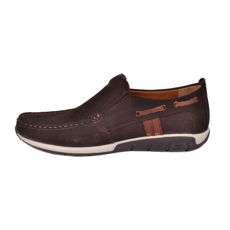 Kahve Erkek Deri Ayakkabı 13