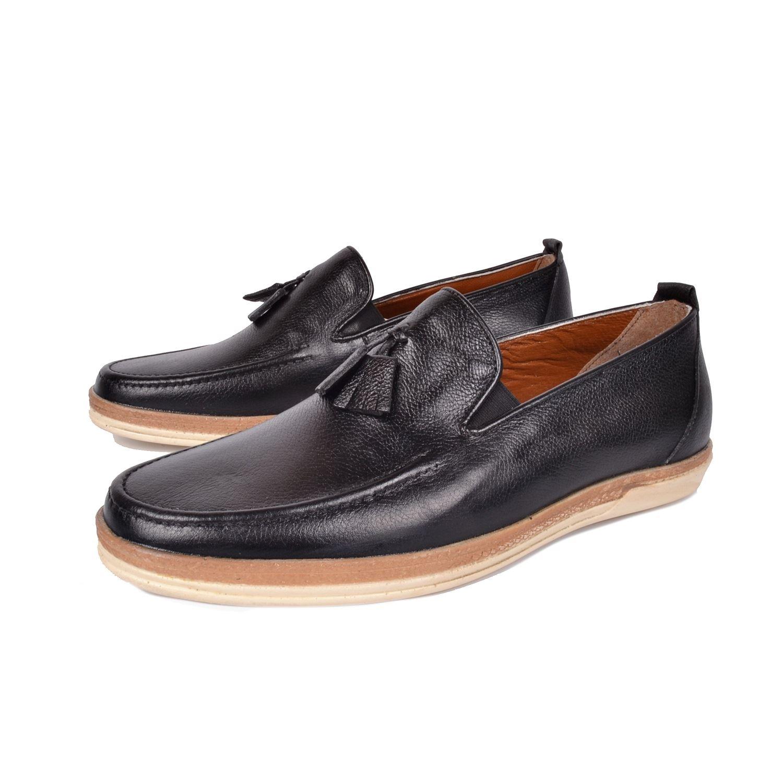 Siyah Erkek Deri Ayakkabı 472