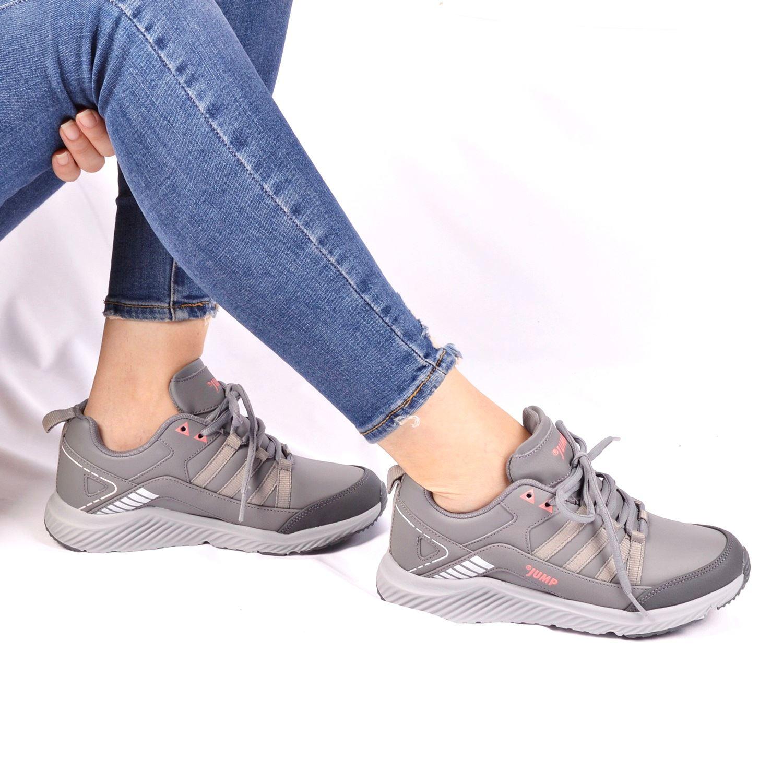 Gri Kadın Spor Ayakkabı 25937