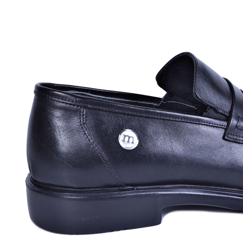 Siyah Erkek Deri Ayakkabı 7160
