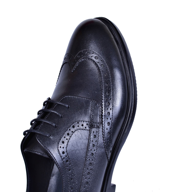 Siyah Erkek Deri Ayakkabı 7165