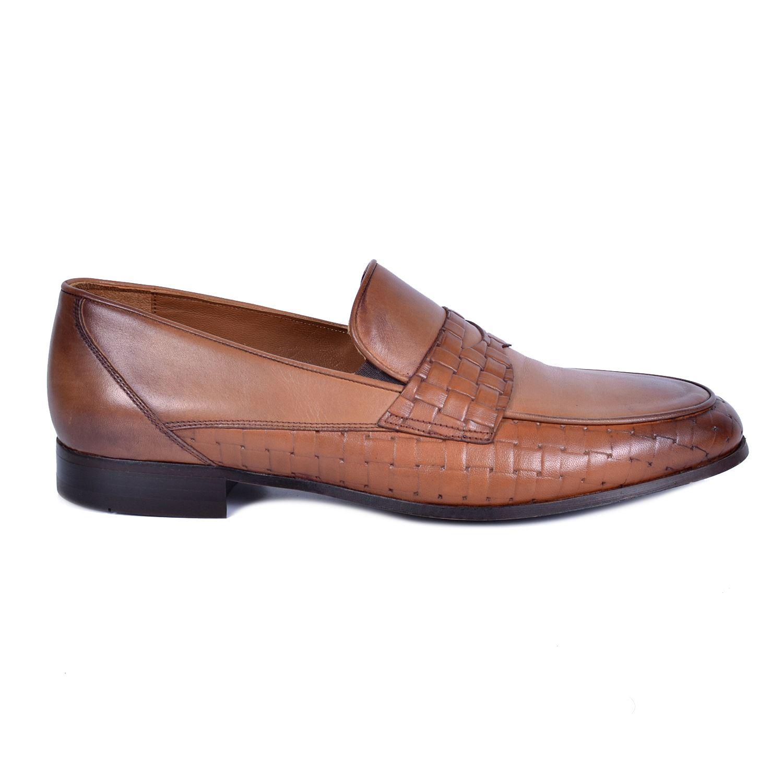 Kahve Erkek Deri Ayakkabı 42660