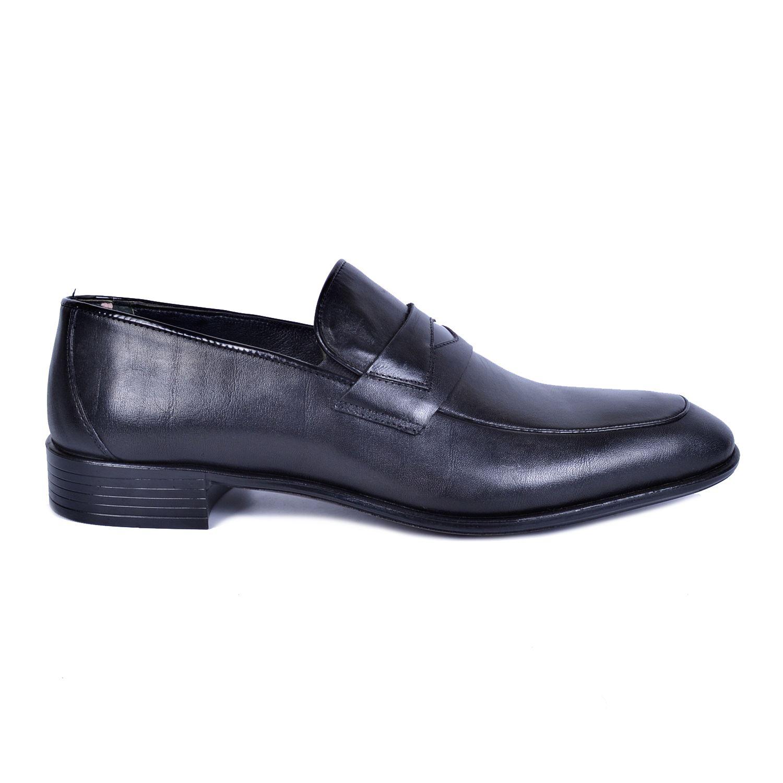Siyah Erkek Deri Ayakkabı 211