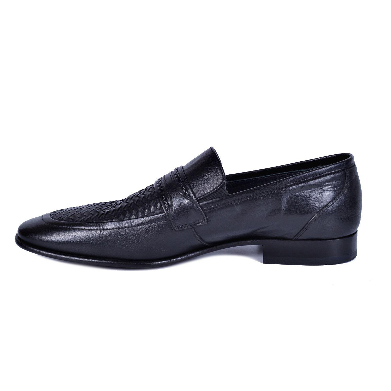 Marcomen Siyah Deri Klasik Ayakkabı 2093