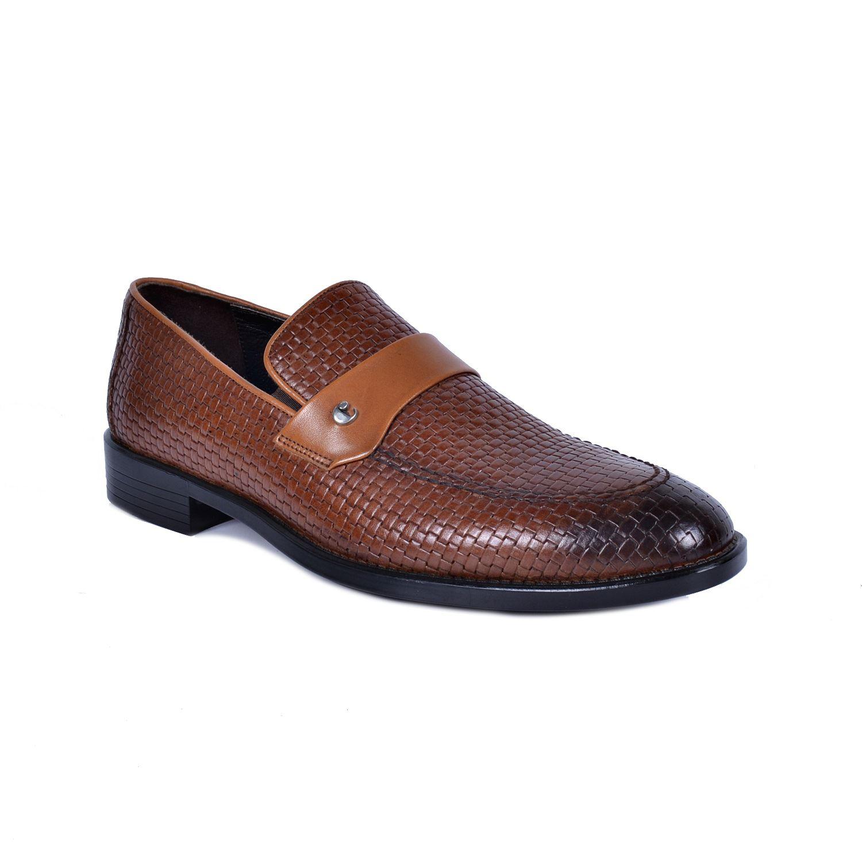 Taba Deri Klasik Ayakkabı 1624