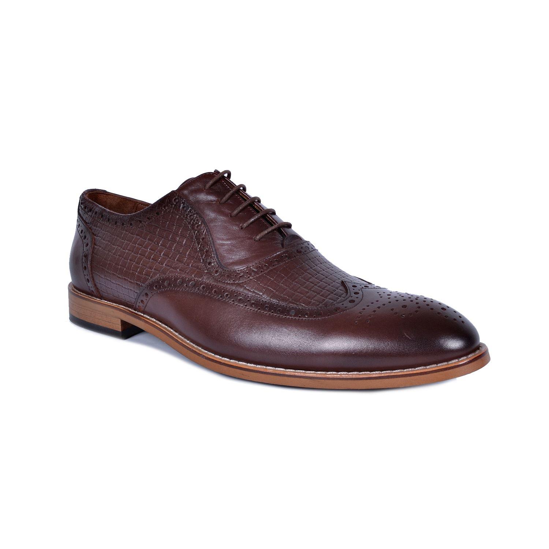 Kahve Deri Klasik Ayakkabı 3642