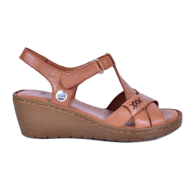 Taba Kadın Deri Sandalet 1300