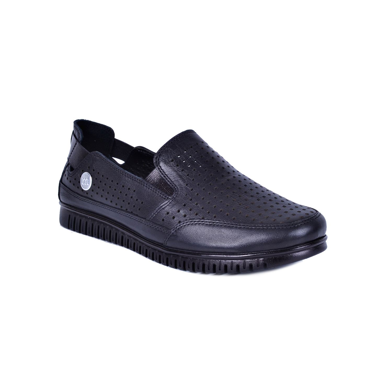Siyah Kadın Deri Ayakkabı 145