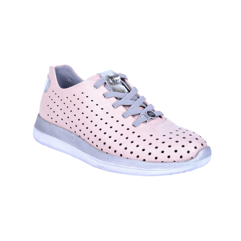 Pembe Kadın Deri Ayakkabı 310
