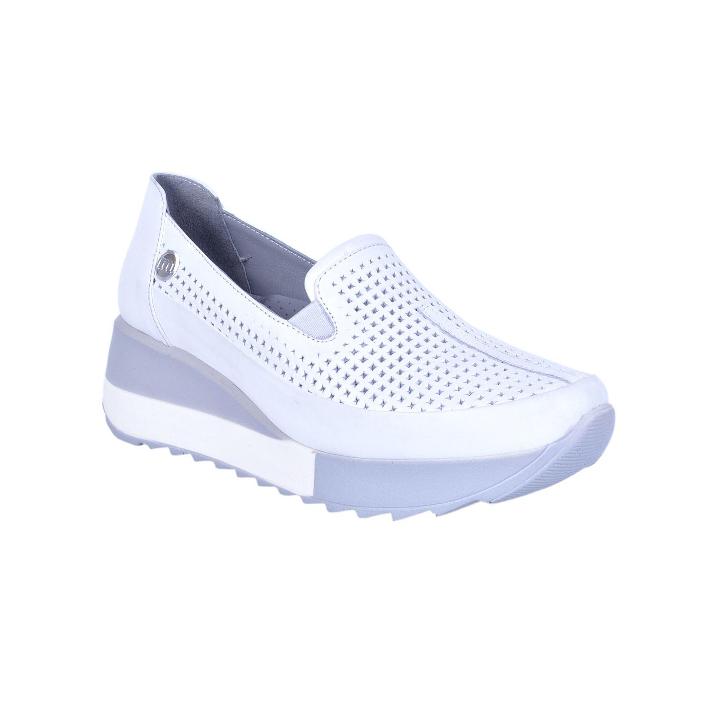 Beyaz Kadın Deri Ayakkabı 350