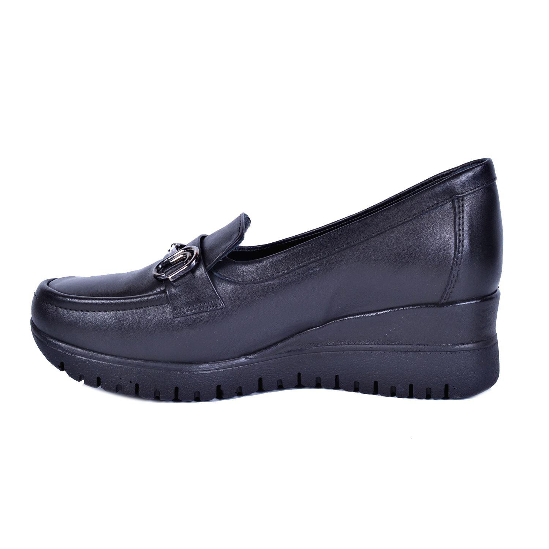 Siyah Kadın Deri Ayakkabı 3240