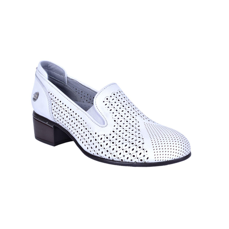 Beyaz Kadın Deri Ayakkabı 3010