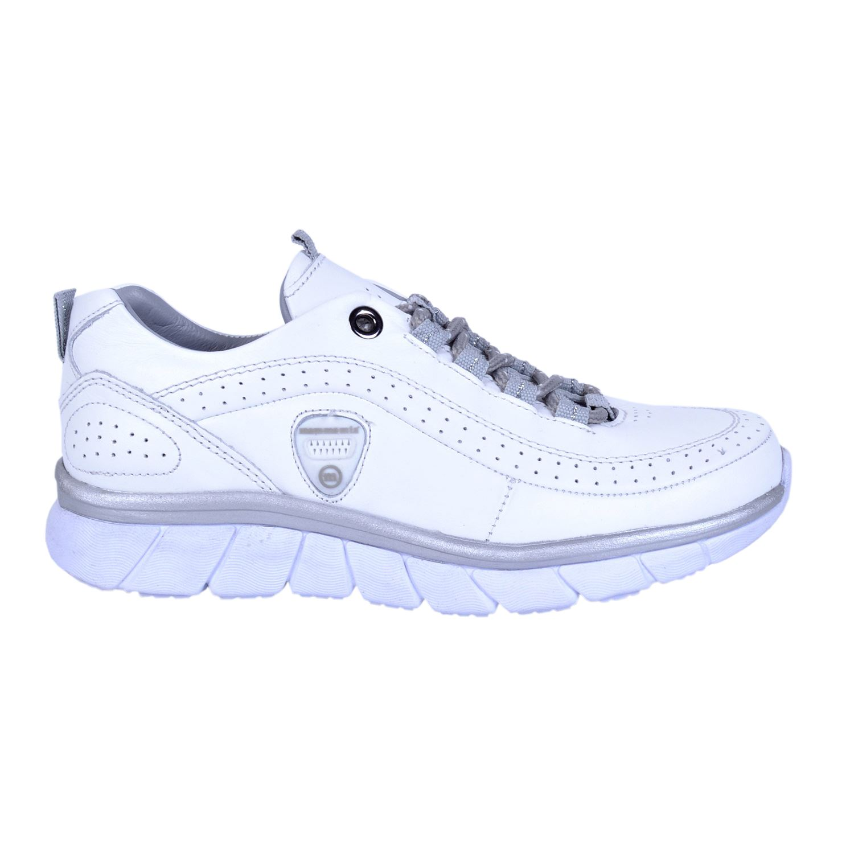 Beyaz Kadın Deri Ayakkabı 3170