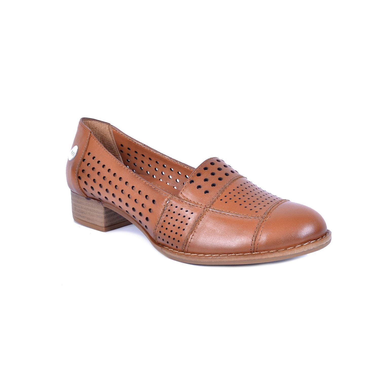 Taba Kadın Deri Ayakkabı 190