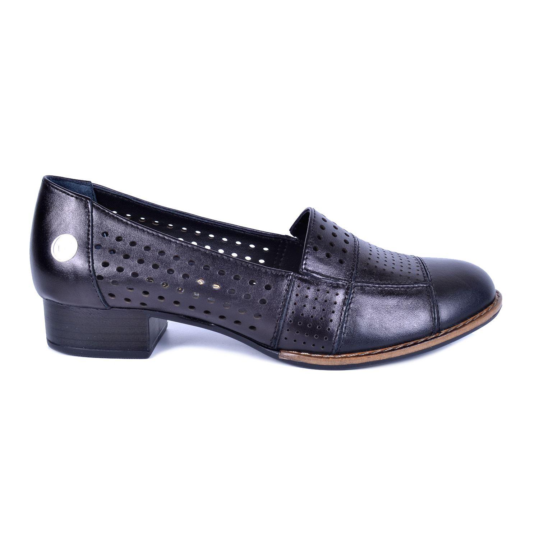 Siyah Kadın Deri Ayakkabı 190