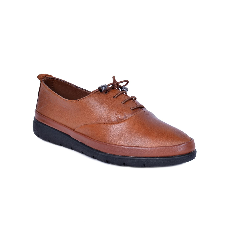 Taba Kadın Deri Ayakkabı 2202