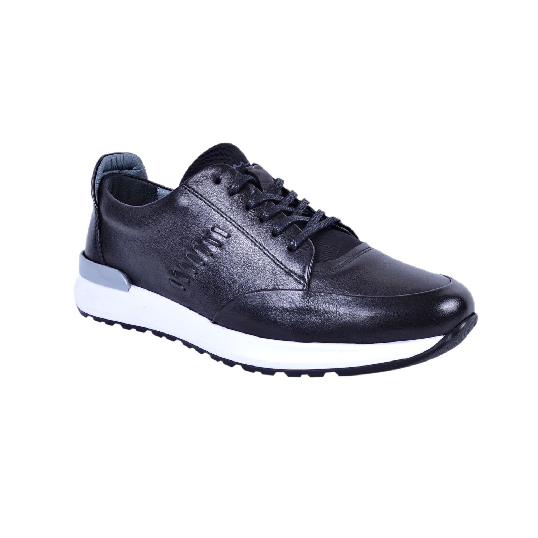 Marcomen 11177 Siyah Erkek Deri Ayakkabı