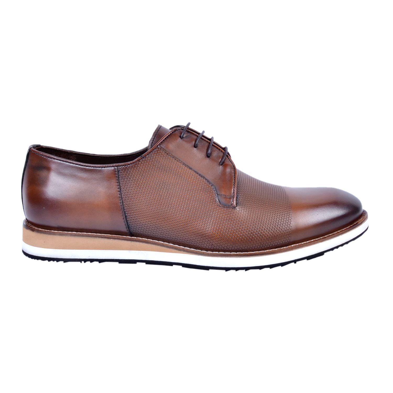 Marcomen 18183 Taba Erkek Deri Büyük Numara Ayakkabı