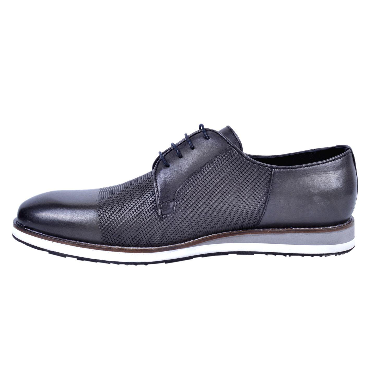 Marcomen 18183 Siyah Erkek Deri Büyük Numara Ayakkabı
