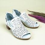 Mammamia Kadın Deri Sandalet D20YS-3345