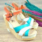 Dolgu Topuk Kadın Sandalet 1017